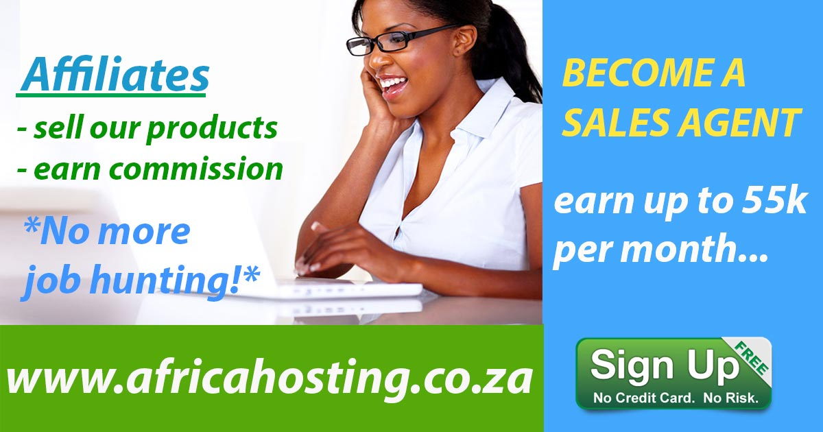 become a partner at africa hosting